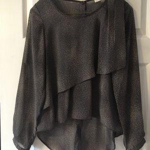 Tops - Sugarlips sheer blouse